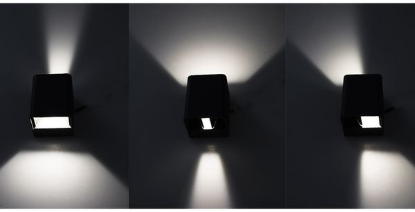 LED Wandleuchte CHILITEC Fachada, 3000K, EEK: A, 2x3 W, 300 lm, IP54 - Produktbild 3