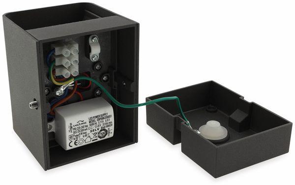 LED Wandleuchte CHILITEC Fachada, 3000K, EEK: A, 2x3 W, 300 lm, IP54 - Produktbild 5
