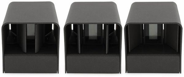 LED Wandleuchte CHILITEC Fachada, 3000K, EEK: A, 2x3 W, 300 lm, IP54 - Produktbild 6