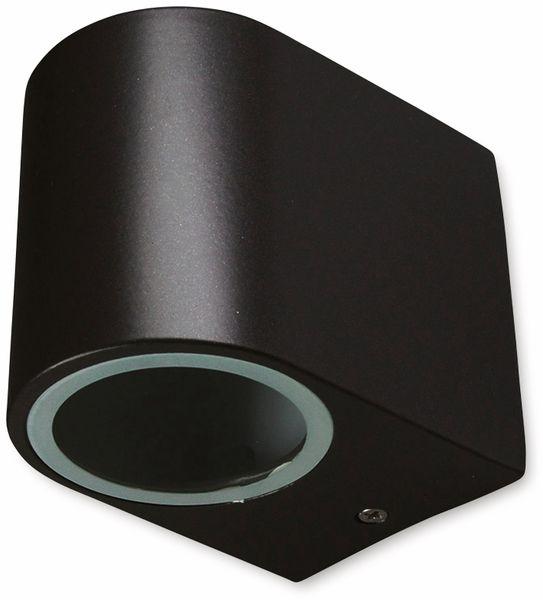 LED Wandleuchte CHILITEC CTW-1, schwarz, 1x GU10, IP44, max. 35 W