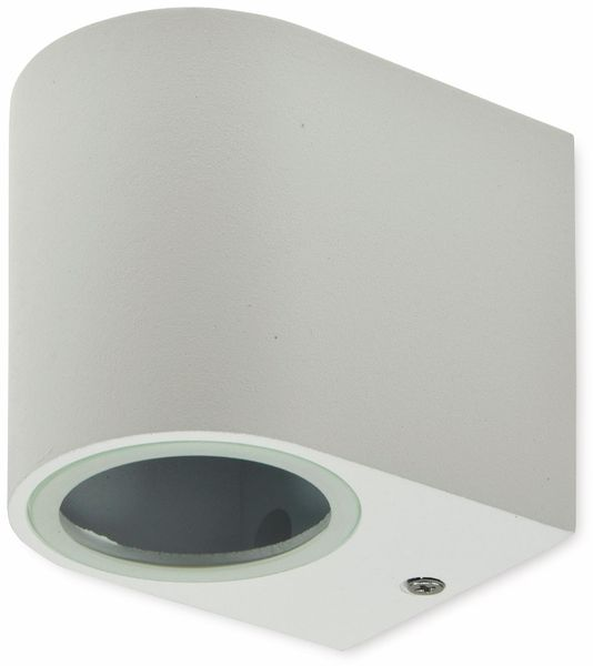 LED Wandleuchte CHILITEC CTW-1, weiß, 1x GU10, IP44, max. 35 W