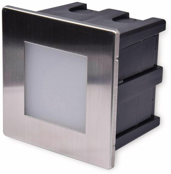 LED-Einbauleuchte CHILITEC Cuadrado Eco, EEK: A+, 1,5 W, 38 lm, 3000K, 80x80 mm - Produktbild 2