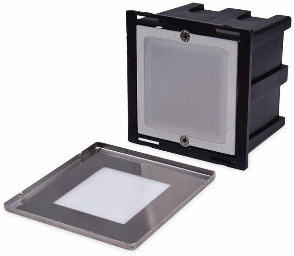 LED-Einbauleuchte CHILITEC Cuadrado Eco, EEK: A+, 1,5 W, 38 lm, 3000K, 80x80 mm - Produktbild 3