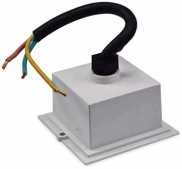 LED-Einbauleuchte CHILITEC Cuadrado Eco, EEK: A+, 1,5 W, 38 lm, 3000K, 80x80 mm - Produktbild 4