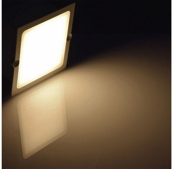 LED-Einbauleuchte CHILITEC Cuadrado Eco, EEK: A+, 1,5 W, 38 lm, 3000K, 80x80 mm - Produktbild 5
