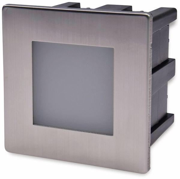 LED-Einbauleuchte CHILITEC Cuadrado Eco, EEK: A+, 1,5 W, 38 lm, 3000K, 80x80 mm - Produktbild 6