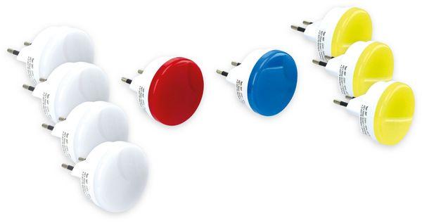 LED-Nachtlichter-Set REV, 9er-Set, verschiedenen Leuchtfarben