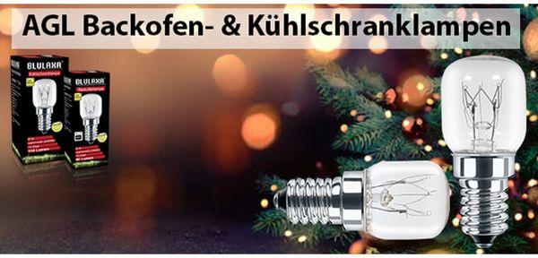 AGL Kühlschranklampe BLULAXA T25, E14, 15 W, 110 lm, 2400K, 26x60 mm - Produktbild 3