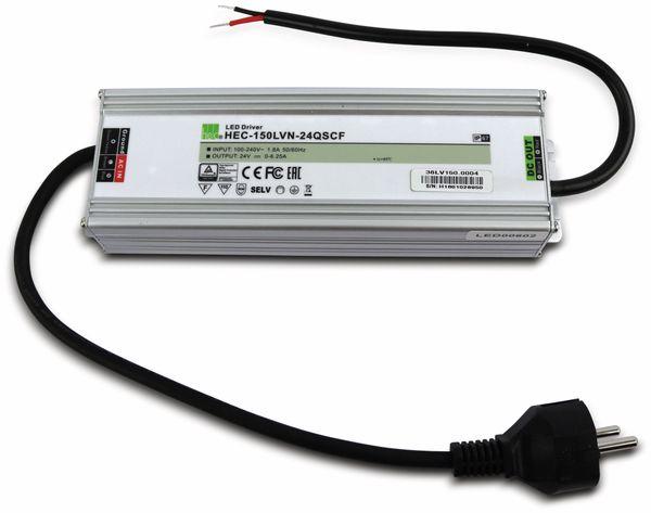 LED-Schaltnetzteil HEC-150LVN-24QSCF, 24 V-, 150 W