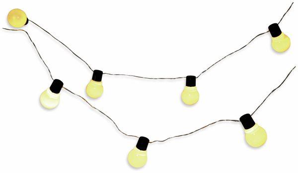 LED-Sommerlichterkette GRUNDIG, 10 LEDs, weiß
