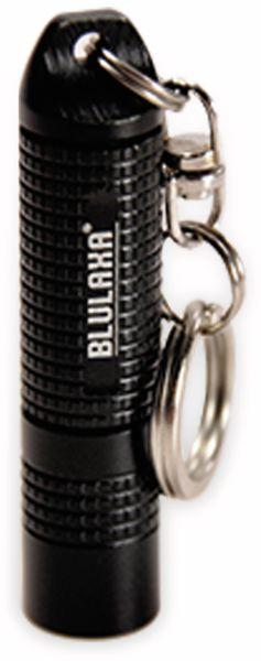 Mini-LED-Taschenlampe BLULAXA 48608, 1 W, 13 lm, Alu, schwarz - Produktbild 2
