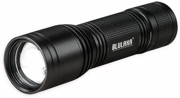 LED-Taschenlampe BLULAXA 47574, 5 W, 230 ml, Alu, schwarz