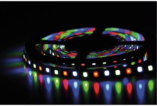LED-Strip BLULAXA 49143, 18 W, RGB, 3 m, inkl. Fernbedienung