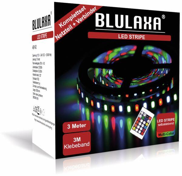 LED-Strip BLULAXA 49143, 18 W, RGB, 3 m, inkl. Fernbedienung - Produktbild 2