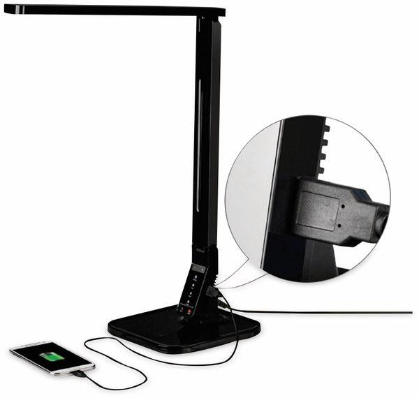 LED-Schreibtischleuchte BLULAXA 47615, 11 W, EEK: A, 530 lm, dimmbar, schwarz - Produktbild 2