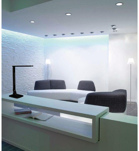 LED-Schreibtischleuchte BLULAXA 47615, 11 W, EEK: A, 530 lm, dimmbar, schwarz - Produktbild 5