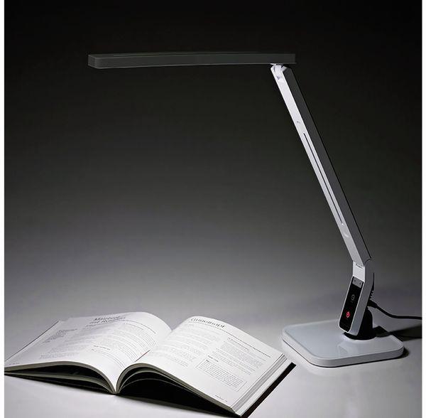 LED-Schreibtischleuchte BLULAXA 47616, 11 W, EEK: A, 530 lm, dimmbar, weiß - Produktbild 2