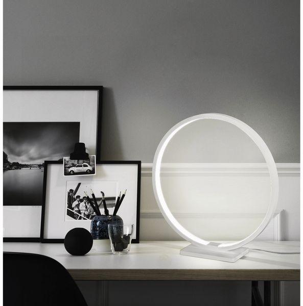 LED-Tischleuchte BLULAXA 48598, 6,5 W, EEK: A, 430 lm, 3000 K, Alu, weiß - Produktbild 2
