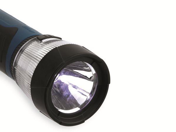 LED-Arbeitsleuchte, GT-Alex-03, Teleskop, 17 LEDs, blau/schwarz - Produktbild 4