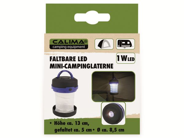 LED Mini Campinglaterne CALIMA, faltbar - Produktbild 6
