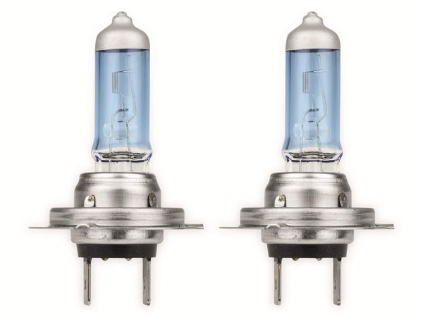 Halogen-White Power Light EUFAB H7, 12V, 55W, PX26D, 2 Stück