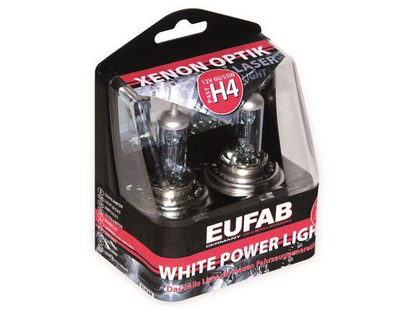 Halogen-White Power Light EUFAB, H4, 12 V, 60/55 W, P43T, 2 Stück - Produktbild 2