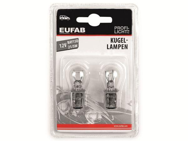 KFZ-Glühlampe EUFAB 12 V, 21/5 W, BAY15D, 2 Stück - Produktbild 2