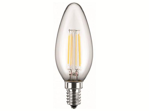 LED-Lampe BLULAXA 48772 Filament, E14, EEK:F, 5 W, 470 lm, 2700, dimmbar