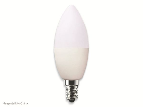 LED-Lampe SWISSTONE SH 310, WLAN, E14, 4,5 W, EEK: A+, 350 lm, weiß, dimmbar