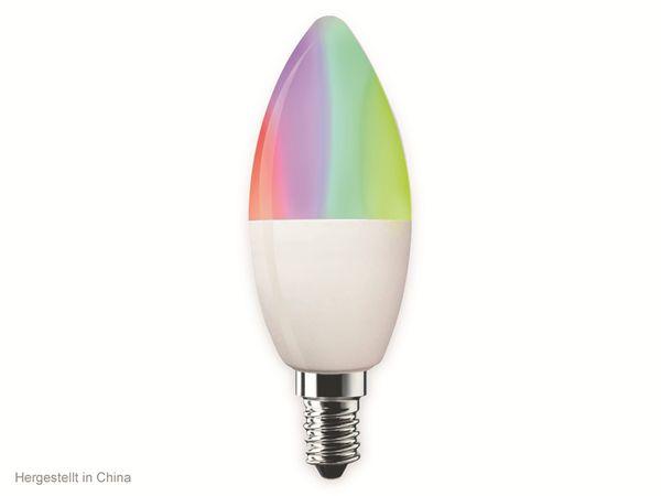 LED-Lampe SWISSTONE SH 320, WLAN, E14, 4,5 W, EEK: A+, 350 lm, RGB, dimmbar