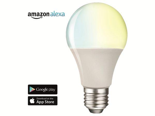 LED-Lampe SWISSTONE SH 330, WLAN, E27, 9 W, EEK: A+, 806 lm, weiß, dimmbar - Produktbild 3