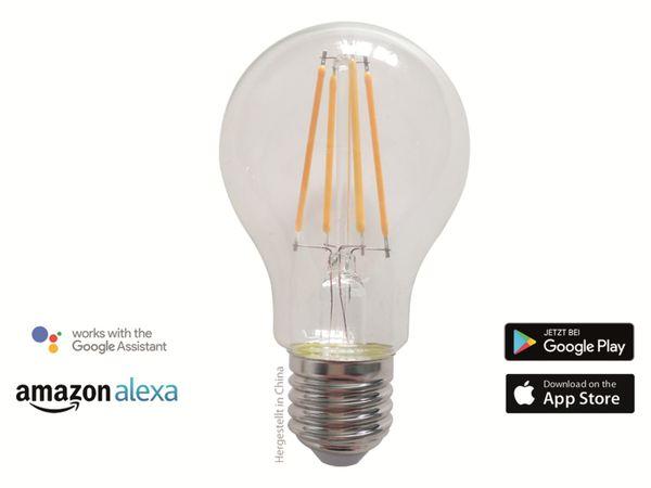 LED-Lampe SWISSTONE SH 335, WLAN, E27, 7 W, EEK: A+, 800 lm, weiß, dimmbar - Produktbild 2