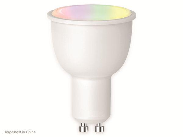 LED-Lampe SWISSTONE SH 360, WLAN, GU10, 4,5 W, EEK: A+, 380 lm, RGB, dimmbar