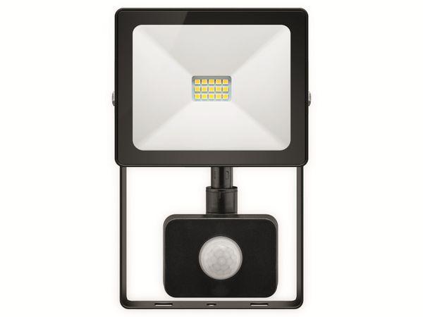 LED-Fluter GOOBAY Slim Classic 39011, EEK: A+, 10 W, 800lm, 4000 K, IP 44, schwarz
