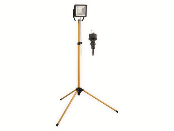 LED-Strahler GOOBAY 59008, Teleskopstativ, EEK: A+, 30 W, 2500 lm, 6500 K, IP 65 - Produktbild 2