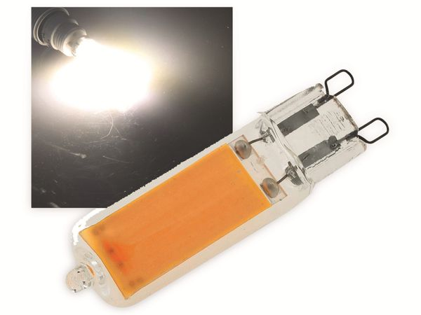 LED-Lampe CHILITEC, G9, EEK: F, 4 W, 410 lm, 4200 K, neutralweiß