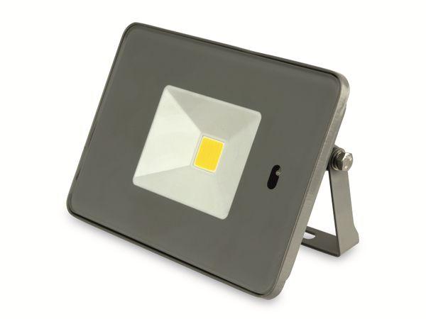LED-Fluter, WKNF8219, 20W, 1700lm, Fernbedienung, 3000K, grau