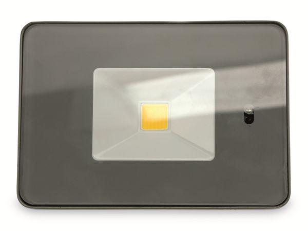 LED-Fluter, WKNF8219, 20W, 1700lm, Fernbedienung, 3000K, grau - Produktbild 2