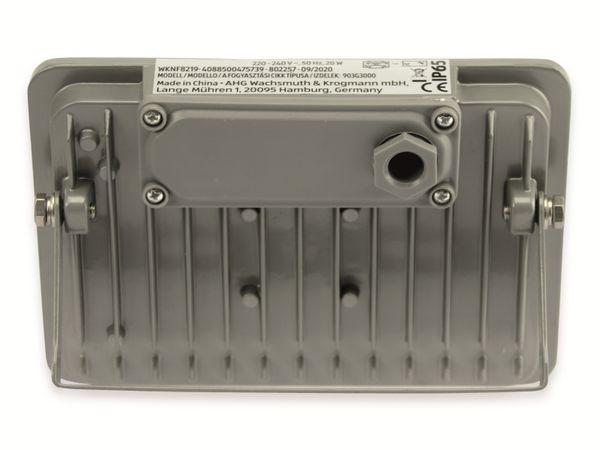 LED-Fluter, WKNF8219, 20W, 1700lm, Fernbedienung, 3000K, grau - Produktbild 3
