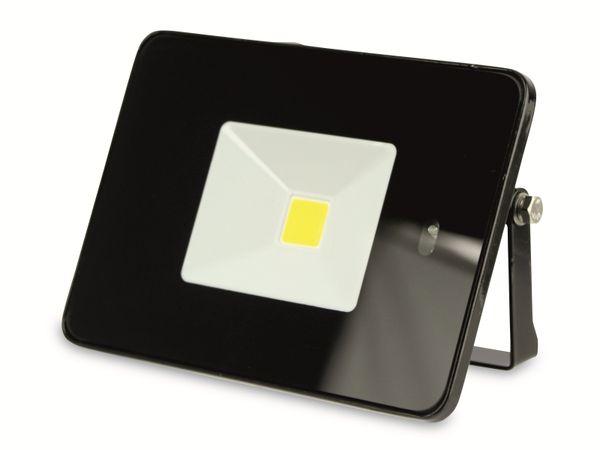 LED-Fluter, WKNF8219, 20W, 1700lm, Fernbedienung, 3000K, schwarz