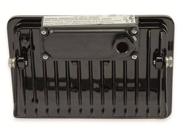 LED-Fluter, WKNF8219, 20W, 1700lm, Fernbedienung, 3000K, schwarz - Produktbild 3