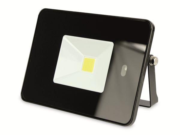 LED-Fluter, WKNF8219, 20W, 1700lm, Fernbedienung, 6500K, schwarz