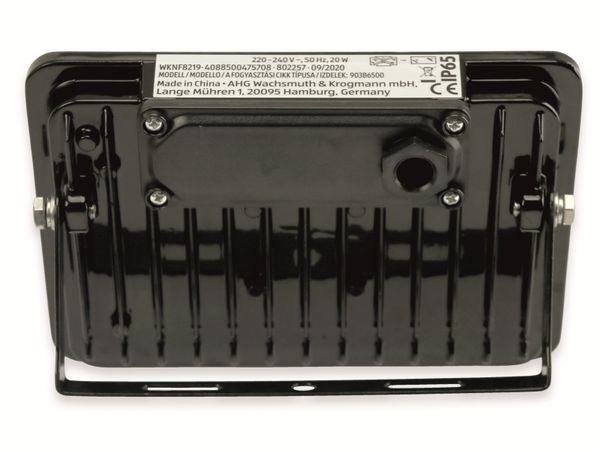 LED-Fluter, WKNF8219, 20W, 1700lm, Fernbedienung, 6500K, schwarz - Produktbild 3
