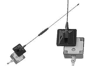 Glasklebe-Antenne für D-Netz