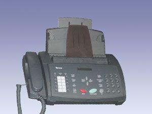 Normalpapier-Faxgerät MD9961