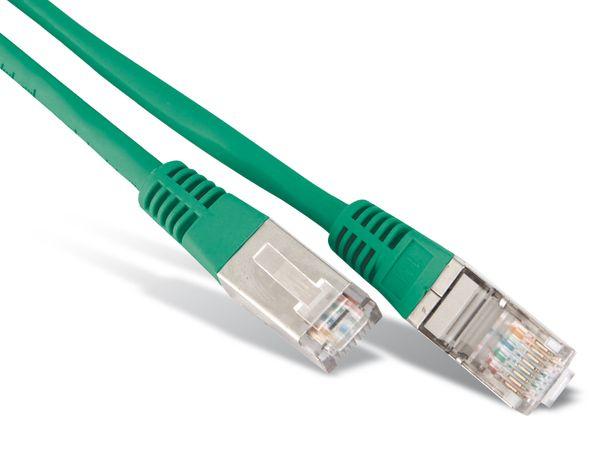 Netzwerkpatchkabel CAT.6 , RJ45, 1:1, 2 m, grün