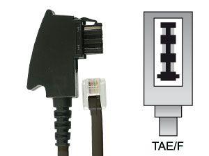 Telefon-Anschlusskabel, TAE/F