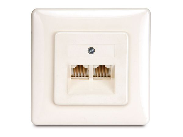 ISDN-Doppeldose 2x8(8), UAE, LSA