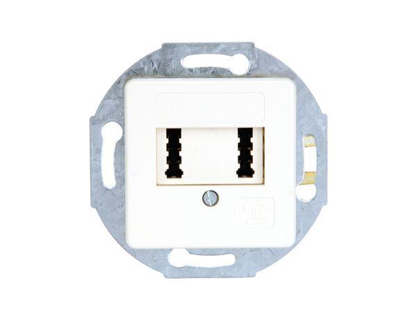 TAE-Dose 2x6 F/F UP - Produktbild 1