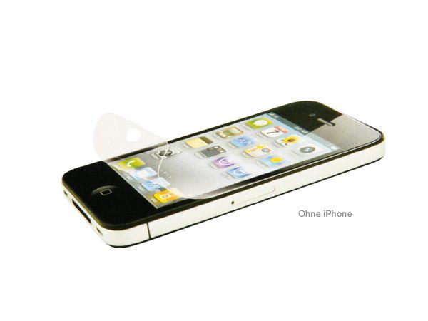 Display-Schutzfolien-Set für iPhone 4/4S, 12-teilig